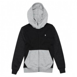 Volcom SNGL STN CLRBLK Zip Youth