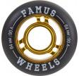 Famus64mmAggressiveInlineHjulguld90A-01