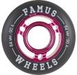 Famus64mmAggressiveInlineHjulPinkSort90A-01