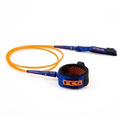 FCS 6' All Round Essential Leash Blood Orange/Navy