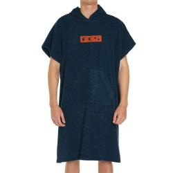 FCS Towel Poncho Navy/Black